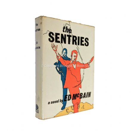The Sentries Signed by Ed McBain​​​​​​​ First Edition Hamish Hamilton 1965
